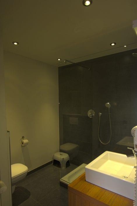 Hotel De Heidebloem douche